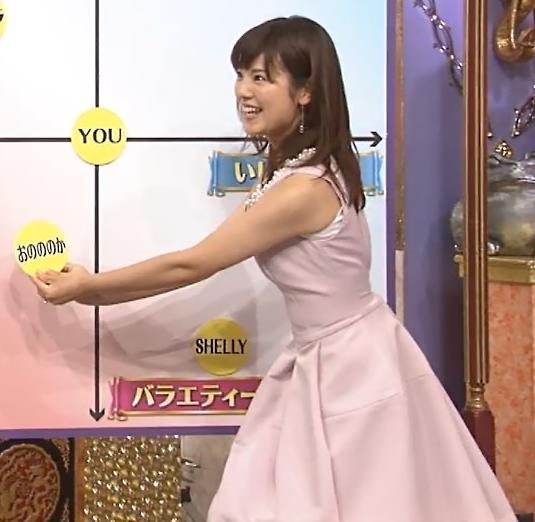 増田麻衣子 セクシードレス画像3