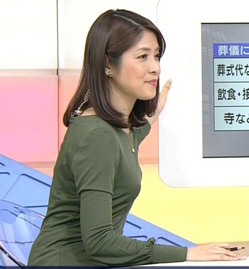 鎌倉千秋 横乳がいいNHKアナ