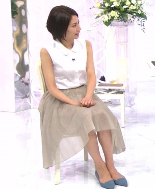 松下奈緒 ノースリーブ画像6