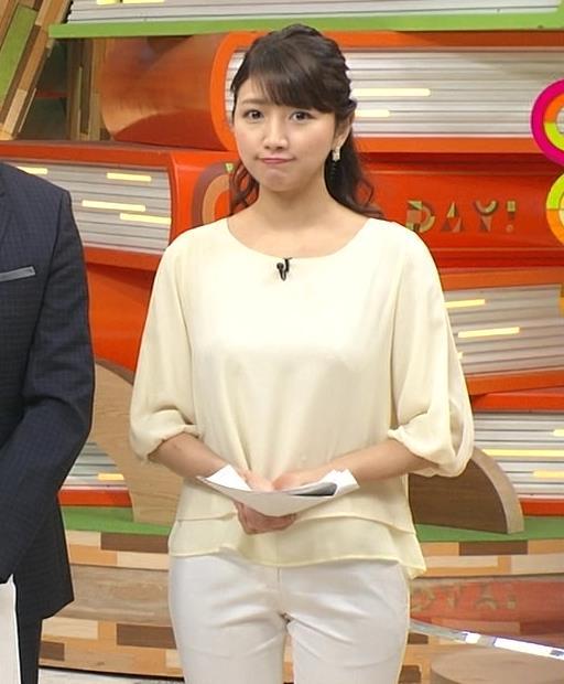 三田友梨佳 パンツ画像