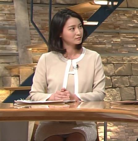 小川彩佳 パンチラ画像7
