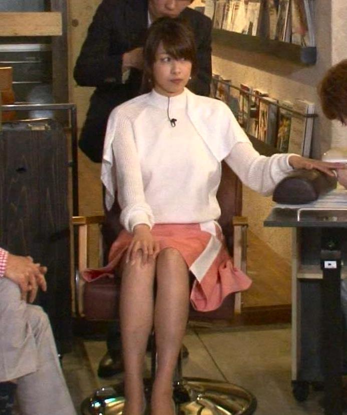加藤綾子 ミニスカート画像2