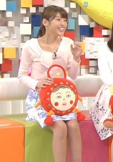 岡副麻希 ミニスカート画像7