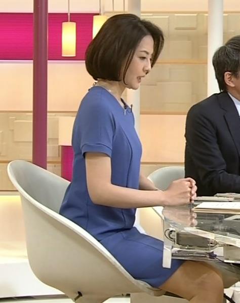鈴木奈穂子 ちらっと見える美脚がエロい