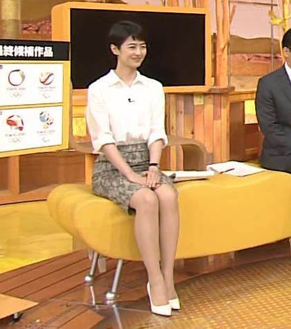 夏目三久 スカート画像5