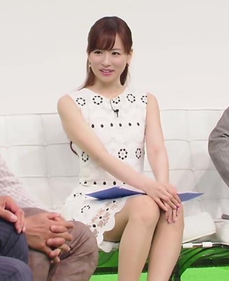 皆藤愛子 太ももがけっこう見えてた