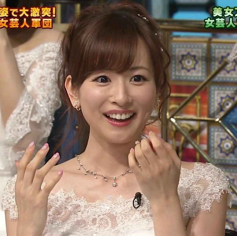 皆藤愛子 セクシードレス画像4