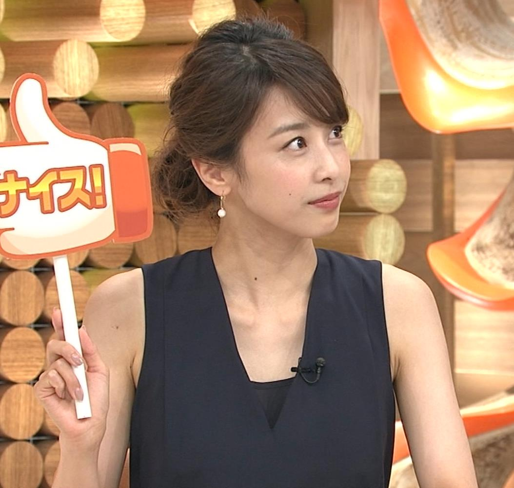 加藤綾子 鎖骨画像3