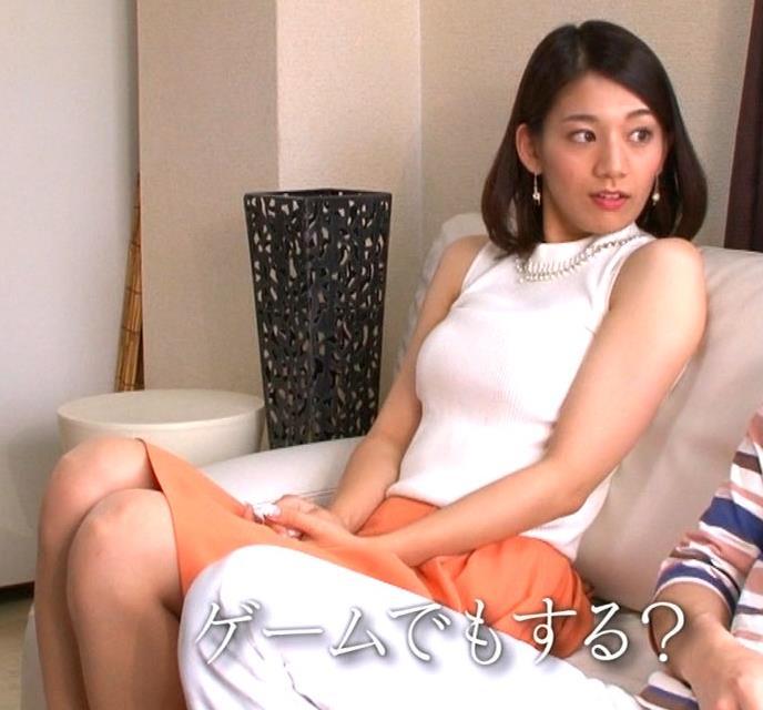 佐藤美希 横乳画像