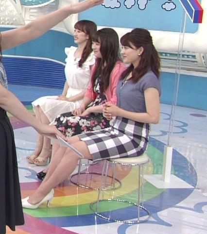 郡司恭子 タイトミニスカート画像4