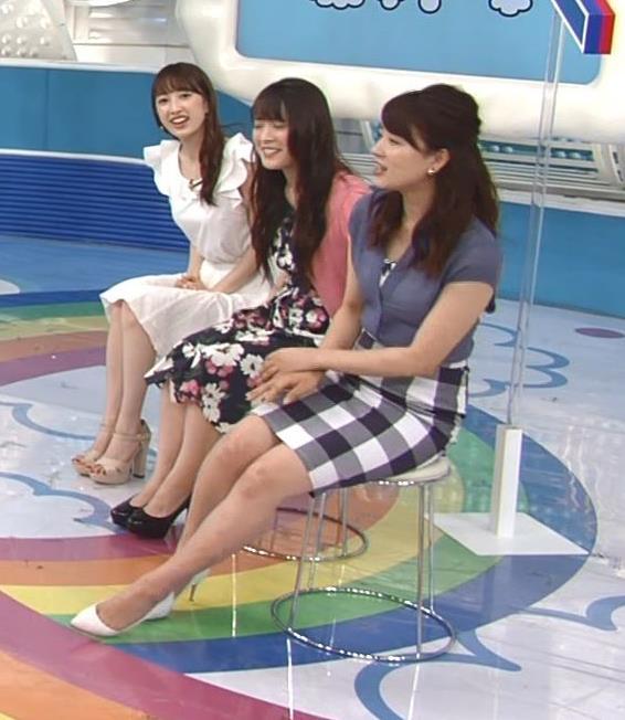 郡司恭子 タイトミニスカート画像5