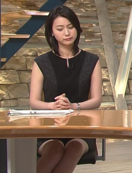 小川彩佳 ワンピース画像3