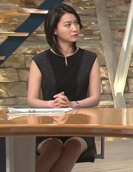 小川彩佳 ワンピース画像4
