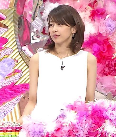 加藤綾子 ワンピース画像3