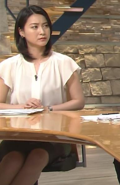 小川彩佳 スカート画像6