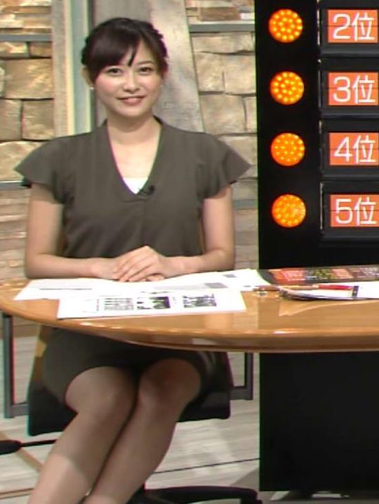 久冨慶子 太もも画像7
