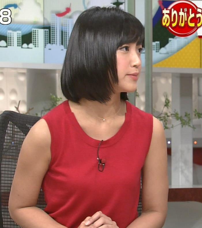 竹内由恵 ノースリーブ画像