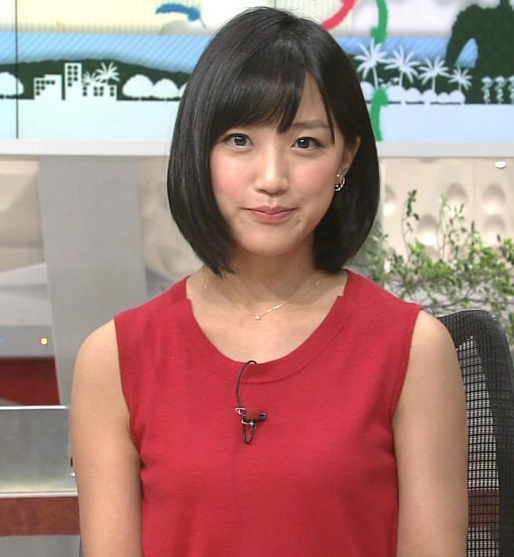 竹内由恵 ノースリーブ画像5