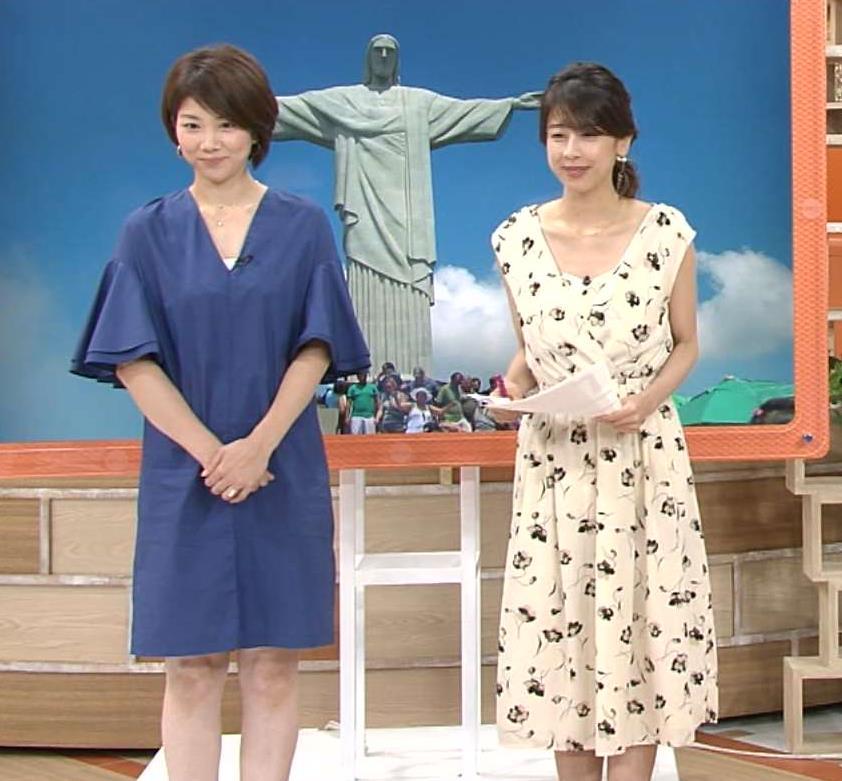 加藤綾子 ワンピース画像6