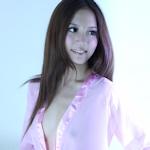 台湾美女モデル 林采緹(サニー・リン) スケ乳首&ハミマン セクシーランジェリー画像