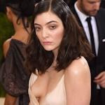 シンガーソングライター Lorde(ロード) 胸チラ画像