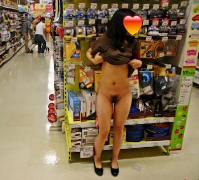 スレンダー美乳素人女性 野外露出ヌード画像 6