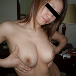 美乳なアジアン美女の流出ヌード画像