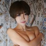 中国美女 冯木木LRIS セクシーセミヌード画像