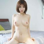 中国の美巨乳美女モデル 萌萌(MengMeng) セクシーヌード画像