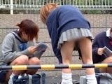 日本の女子高生はスカート短い 6