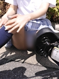 日本の女子高生はスカート短い 14