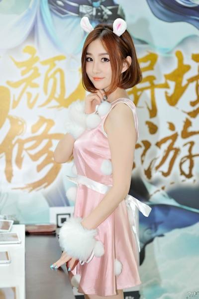 上海 ChainaJoy(チャイナジョイ) 2016 ショーガール画像 5