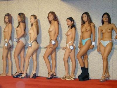 アジアン美女 全裸オーディション ヌード画像 1