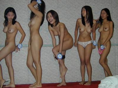 アジアン美女 全裸オーディション ヌード画像 5