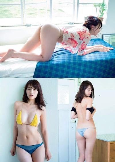 早瀬あや セミヌード&ビキニ画像 3