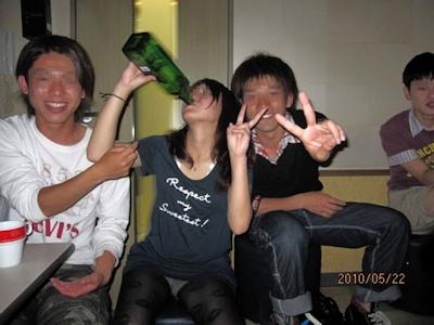 ヤリサーの飲み会の流出画像 5