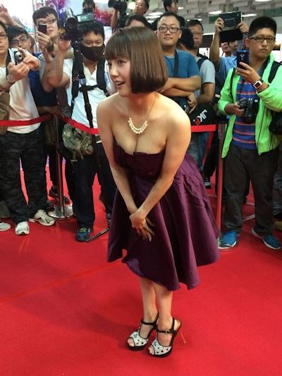 台湾成人展2016(アダルトエキスポ) 日本の人気AV女優9人の登場シーン 4