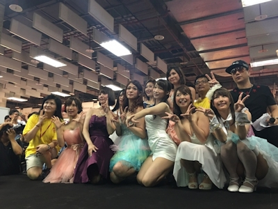 台湾成人展2016(アダルトエキスポ) 日本の人気AV女優9人の登場シーン 12