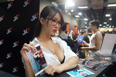 台湾成人展2016(アダルトエキスポ) セクシーコンパニオン画像 18