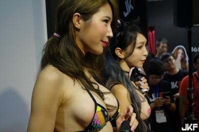 台湾成人展2016(アダルトエキスポ) セクシーコンパニオン画像 3