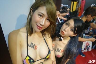 台湾成人展2016(アダルトエキスポ) セクシーコンパニオン画像 5