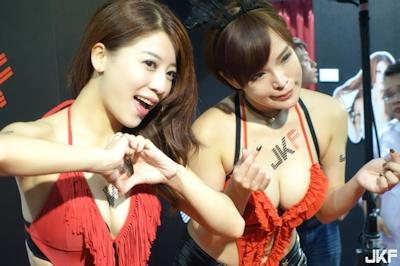 台湾成人展2016(アダルトエキスポ) セクシーコンパニオン画像 10