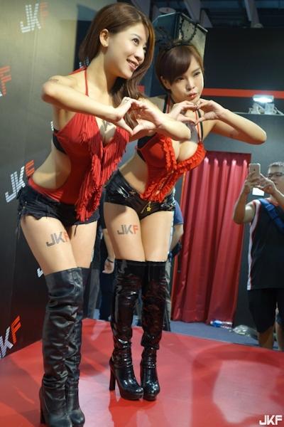 台湾成人展2016(アダルトエキスポ) セクシーコンパニオン画像 14