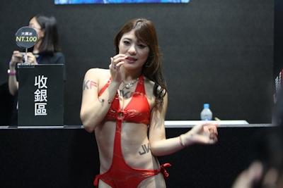 台湾成人展2016(アダルトエキスポ) セクシーコンパニオン画像 30