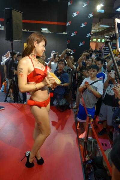 台湾成人展2016(アダルトエキスポ) セクシーコンパニオン画像 45