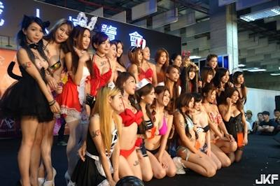 台湾成人展2016(アダルトエキスポ) ショーガール人気投票結果発表 1