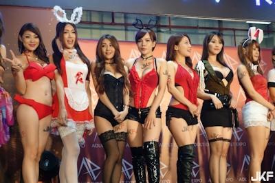 台湾成人展2016(アダルトエキスポ) ショーガール人気投票結果発表 2