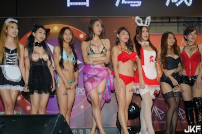 台湾成人展2016(アダルトエキスポ) ショーガール人気投票結果発表 3
