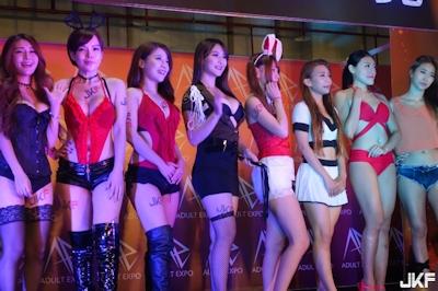 台湾成人展2016(アダルトエキスポ) ショーガール人気投票結果発表 4
