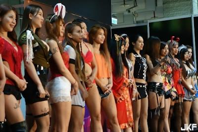 台湾成人展2016(アダルトエキスポ) ショーガール人気投票結果発表 5